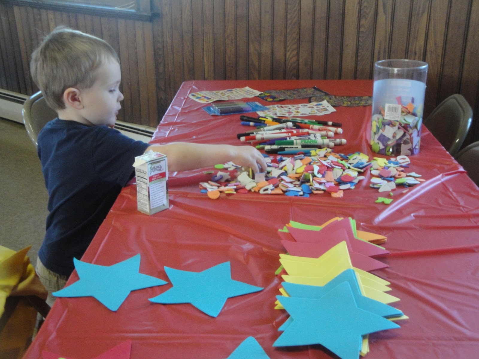 firefighter birthday party crafts