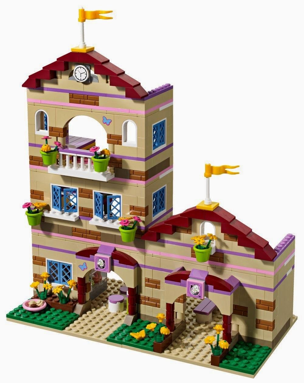 Junio 2014 casas de mu ecas modernas - Lego friends casa de livi ...