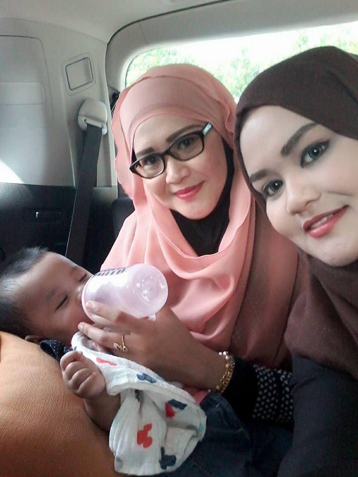With Zahraa' & Mak Ina