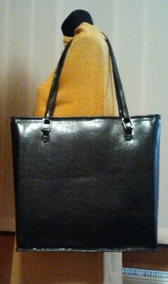 Duża, czarna torba – minimalizm w pełnej krasie cz 2/2