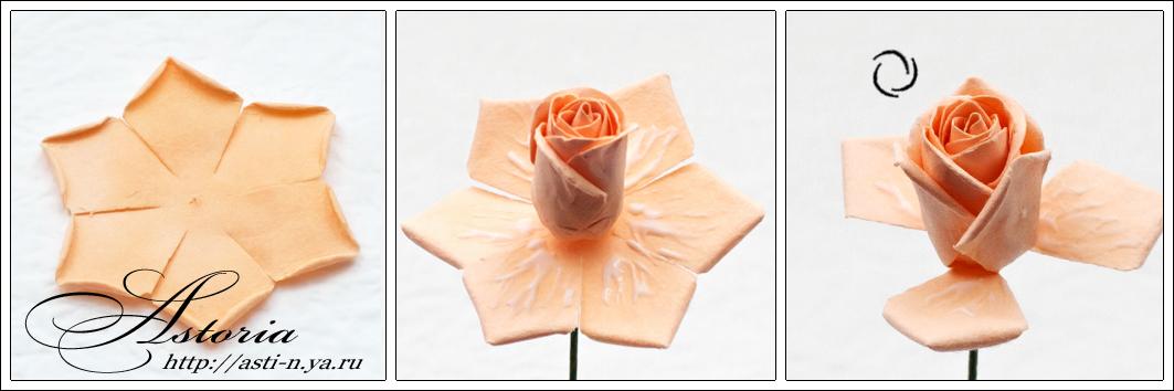 Как сделать белую розу из бумаги своими руками