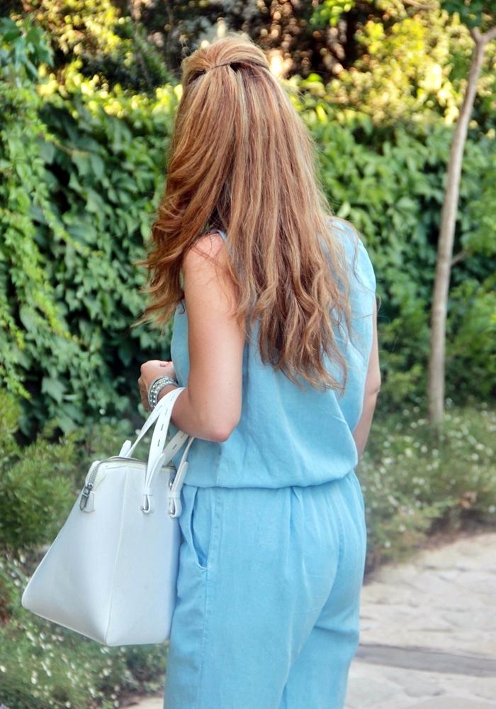 בלוג אופנה Vered'Style אוברול ג'ינס