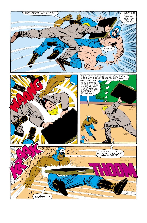 Captain America (1968) Issue #323 #251 - English 21