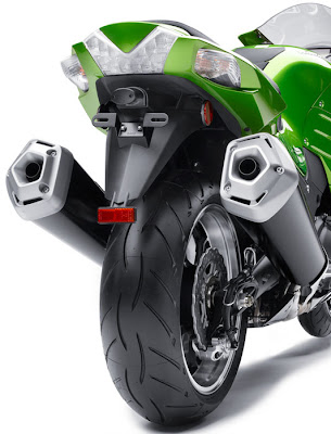 2012 Kawasaki Ninja ZX14R Back Lamp Picture