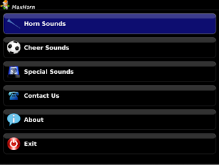 MaxHorn - High Quality Air Horns and Siren Sounds v1.1.5 for BlackBerry