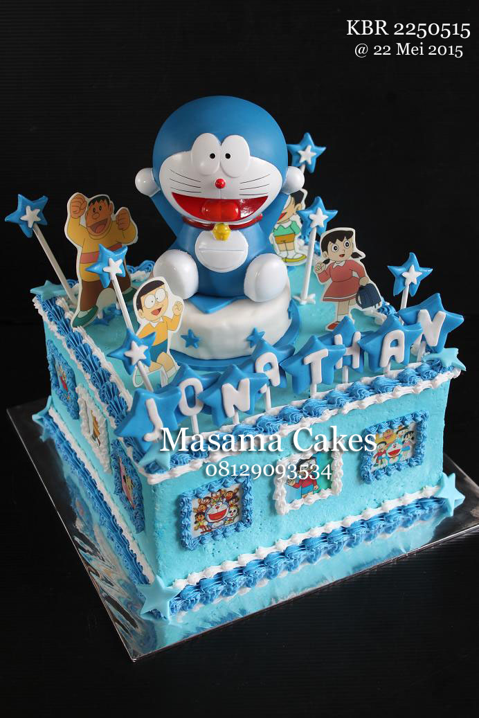 Masama Cakes Doraemon Birthday Cake For Jonathan