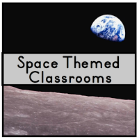 Clutter free classroom - Outer space classroom decorations ...