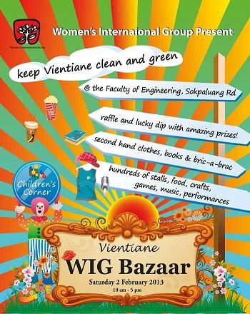 WIG Bazaar 2013 promo poster