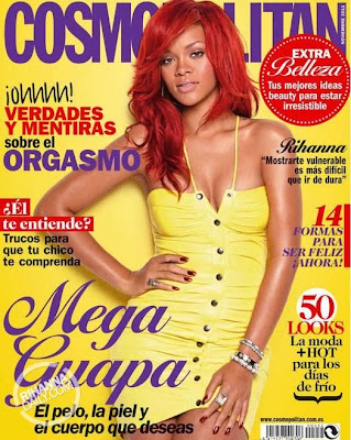 Rihanna en couv' de Cosmopolitan Spain