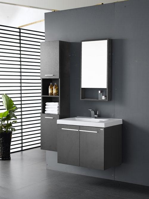 Mobile da bagno con specchio e colonna ~ Box Doccia, Cabine Multifunzione e Vasche per Disabili