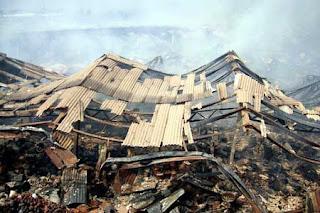Kebakaran Pasar Bandarjo Ungaran Kabupaten Semarang 2007