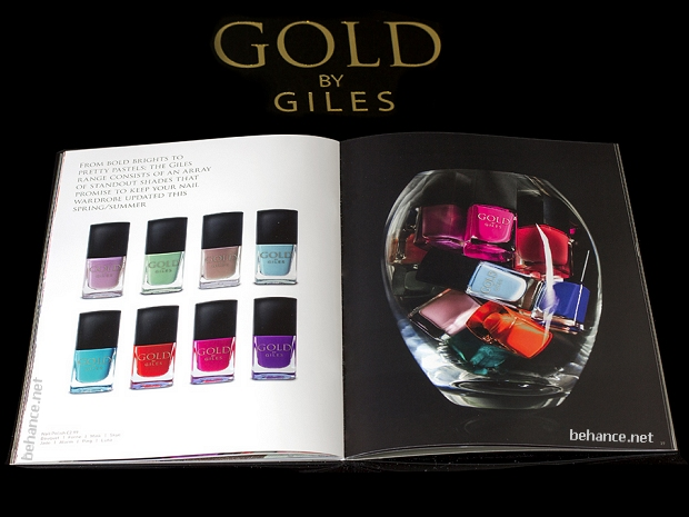 gold by giles nail polish review new look
