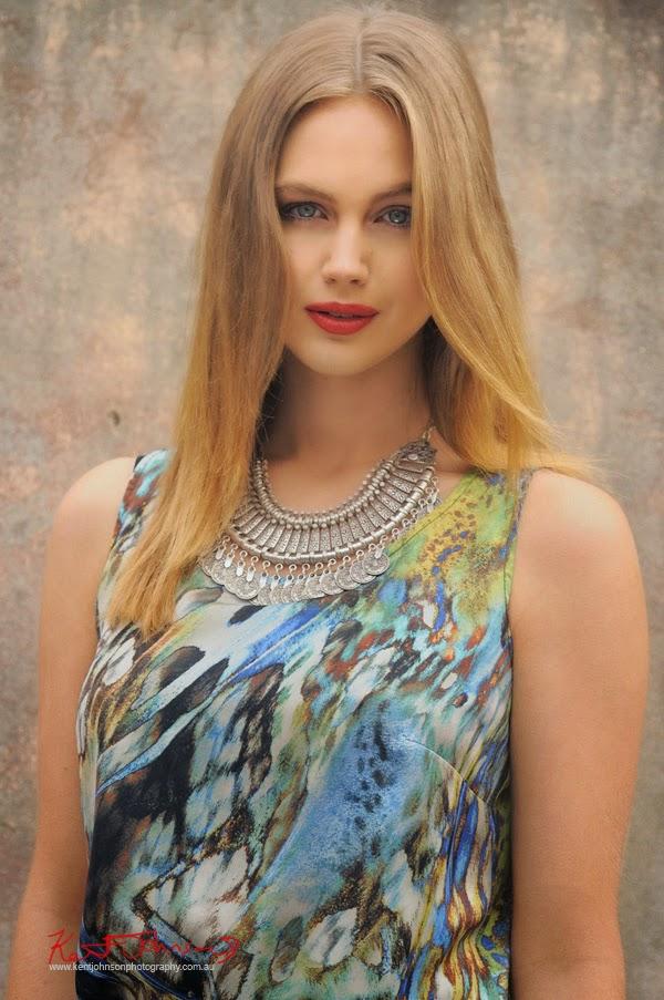 Ksenija Lukich by Kent Johnson for Braka Woman's Fashion - Headshot, Fashion Branding and Marketing Photography.