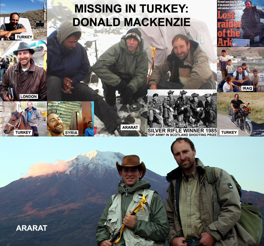 Donald Mackenzie: Missing in Turkey
