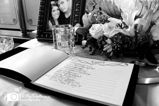 Wedding Guest Book, Guest Book Table