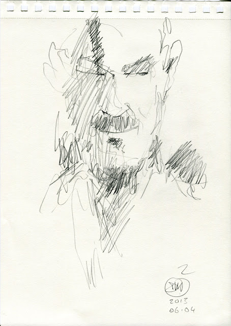 Sketch by David Meldrum