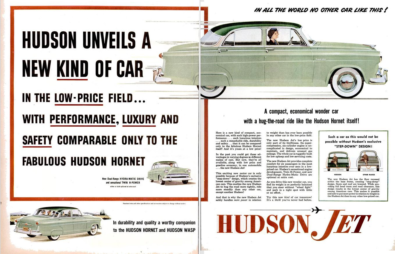 The Gentleman From Indiana August 2013 Starting Circuit Diagram For 1952 53 Nash Statesman Hudson Jet Failed To Generate Sales And Was Acquired By Kelvinator Makers Of Rambler In 1954 Merging Create American Motors