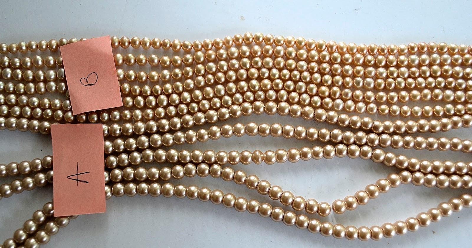 Fresh water pearls acrylic pearls