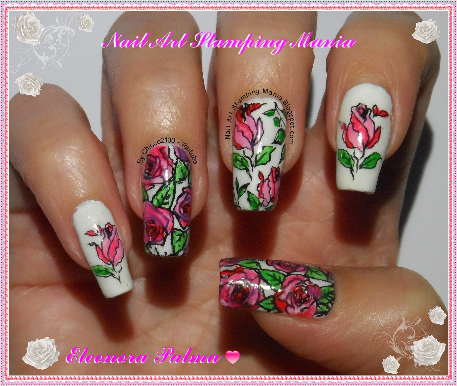 Nail Art Stamping Mania: LeadLight Technique Tutorial With Any Type ...