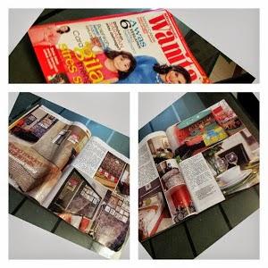 Rumah Penulis Di Majalah Mingguan Wanita- March 2013