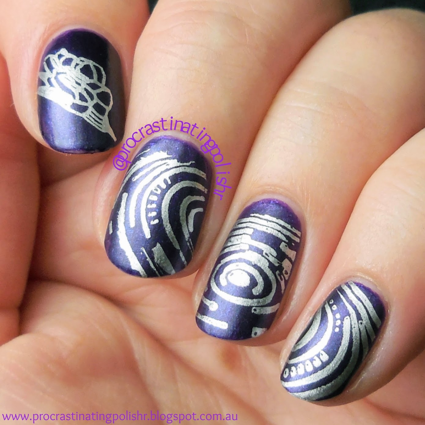 China Glaze - First Class Ticket | MoYou SciFi 07 | Essie - No Place Like Chrome