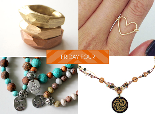 Softflexgirl friday four diy faceted clay rings wire heart ring every friday i highlight some of my favorite do it yourself jewelry ideas found on pinterest for your weekend inspiration here are my picks the week solutioingenieria Gallery
