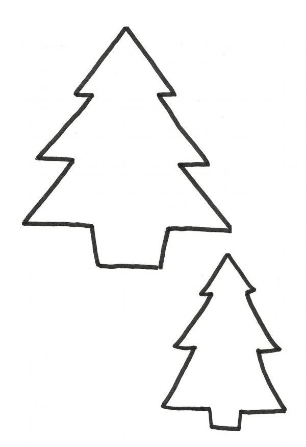 Molde para adornos rbol de navidad de pap noel fieltro - Plantilla estrella navidad ...