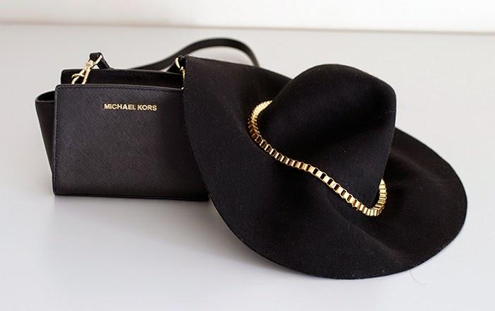 mini selma kors - cappello fedora