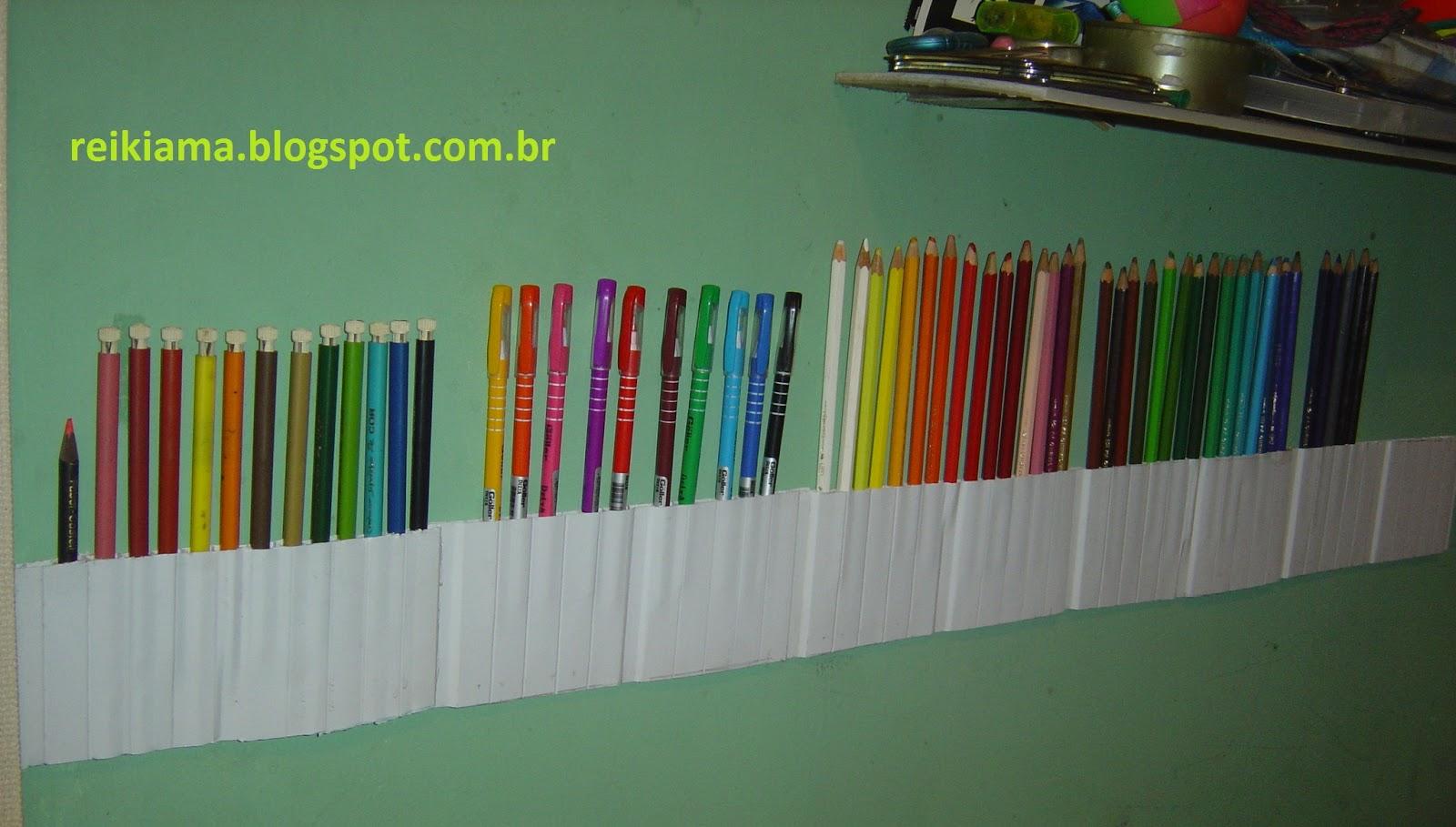 Top Sucata magica: Porta lápis de cor, canetinha,caneta com sucata de  BQ92