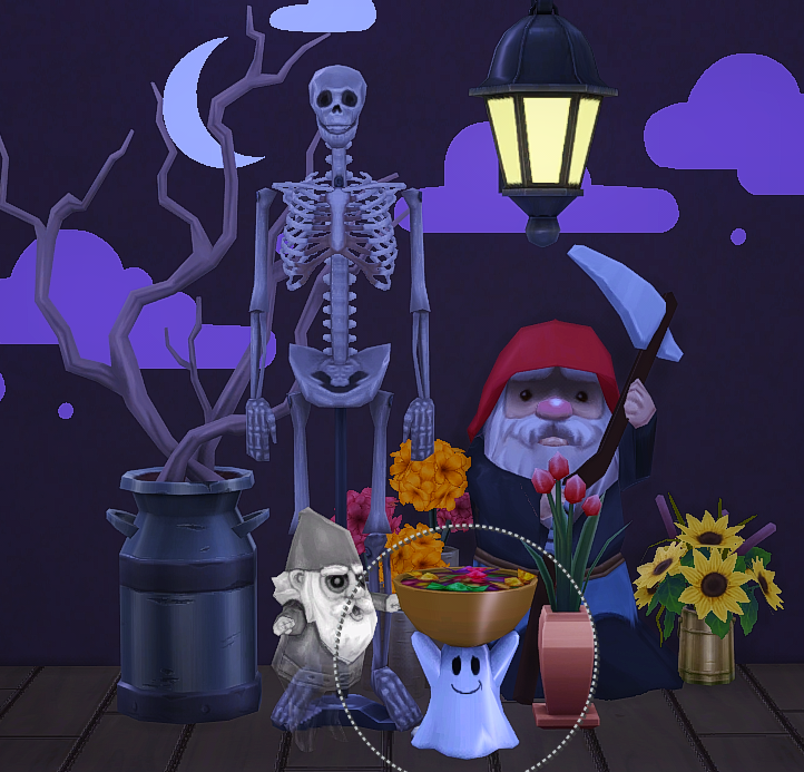 Christmas Decorations On Sims 3: My Sims 4 Blog: TS3 Halloween Decor Conversions By