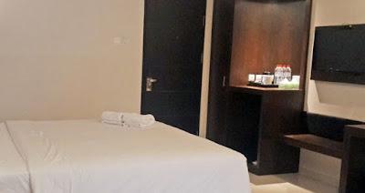 kasur tidur hotel desiason karimun jawa