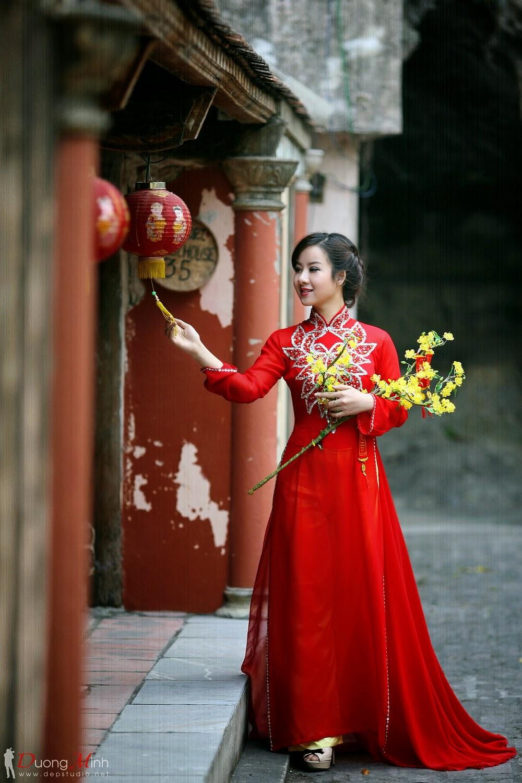 Ảnh đẹp girl xinh Áo dài truyền thống Việt Nam - Ảnh 08