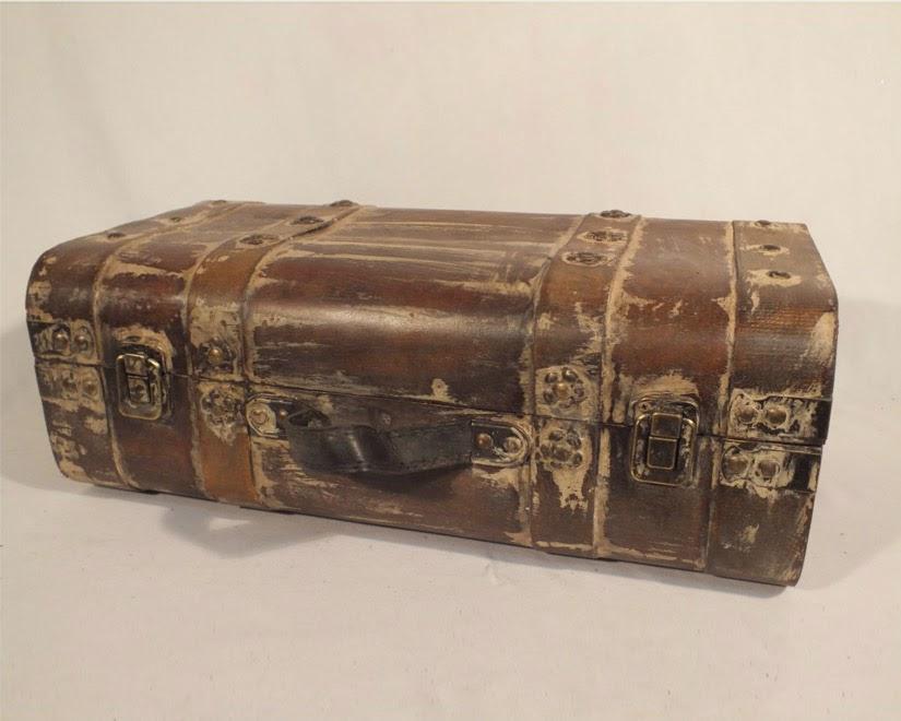 Vintage bőrönd nagy méretben