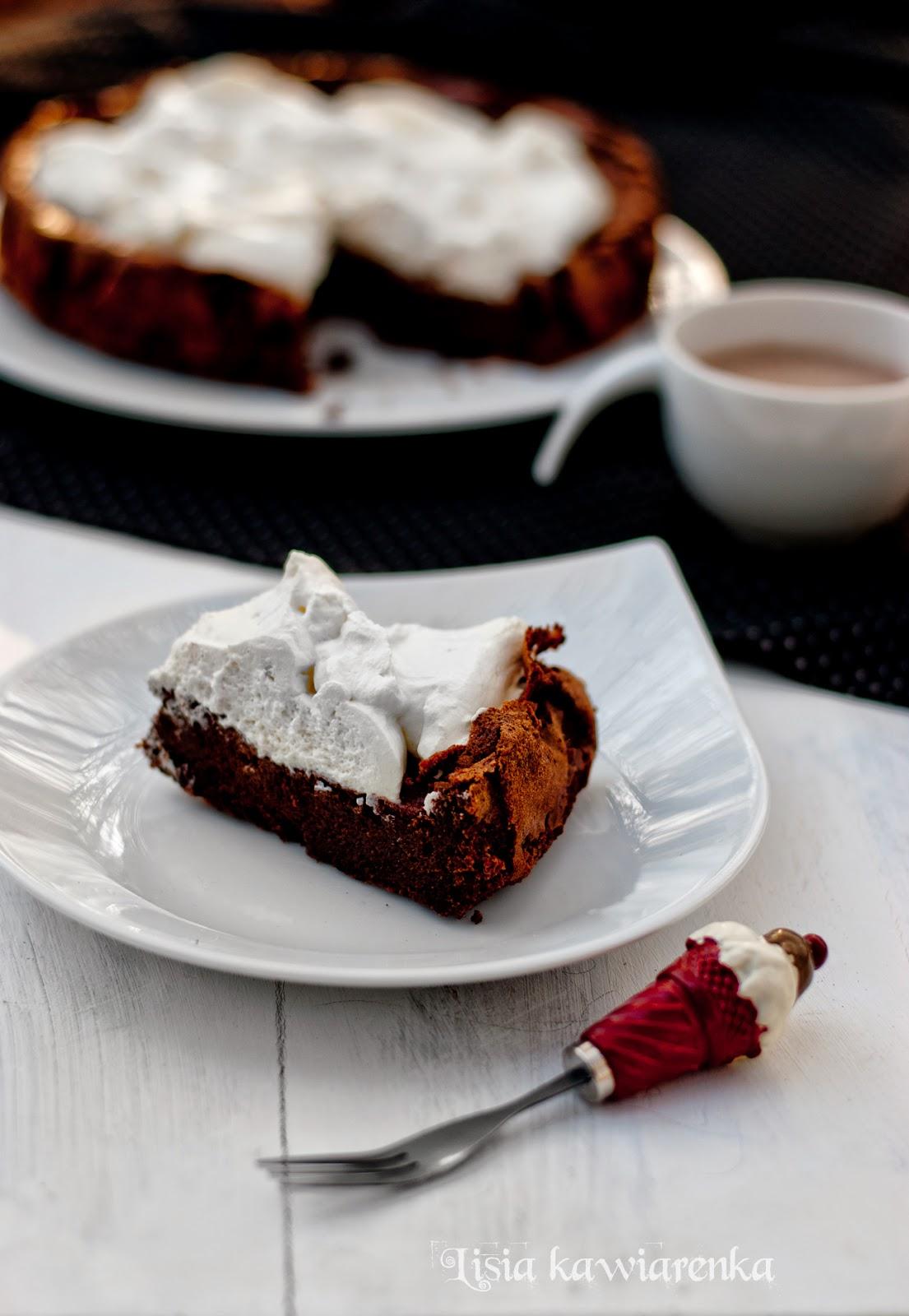 Bezglutenowe ciasto czekoladowe bez mąki