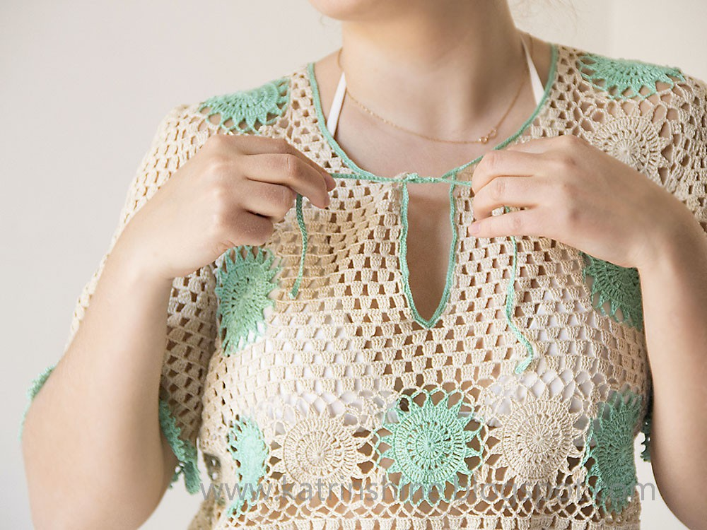 Crochet Cover Up : Katrinshine: Crochet beach dress cover-up