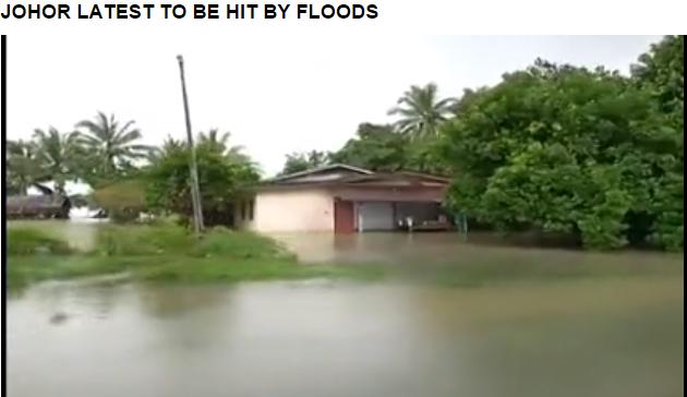 Terkini Johor Mula Dilanda Banjir