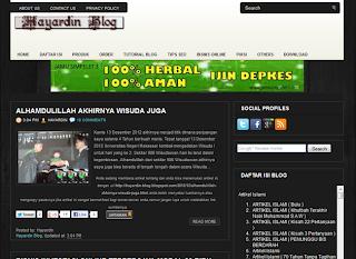 Hayardin Blog