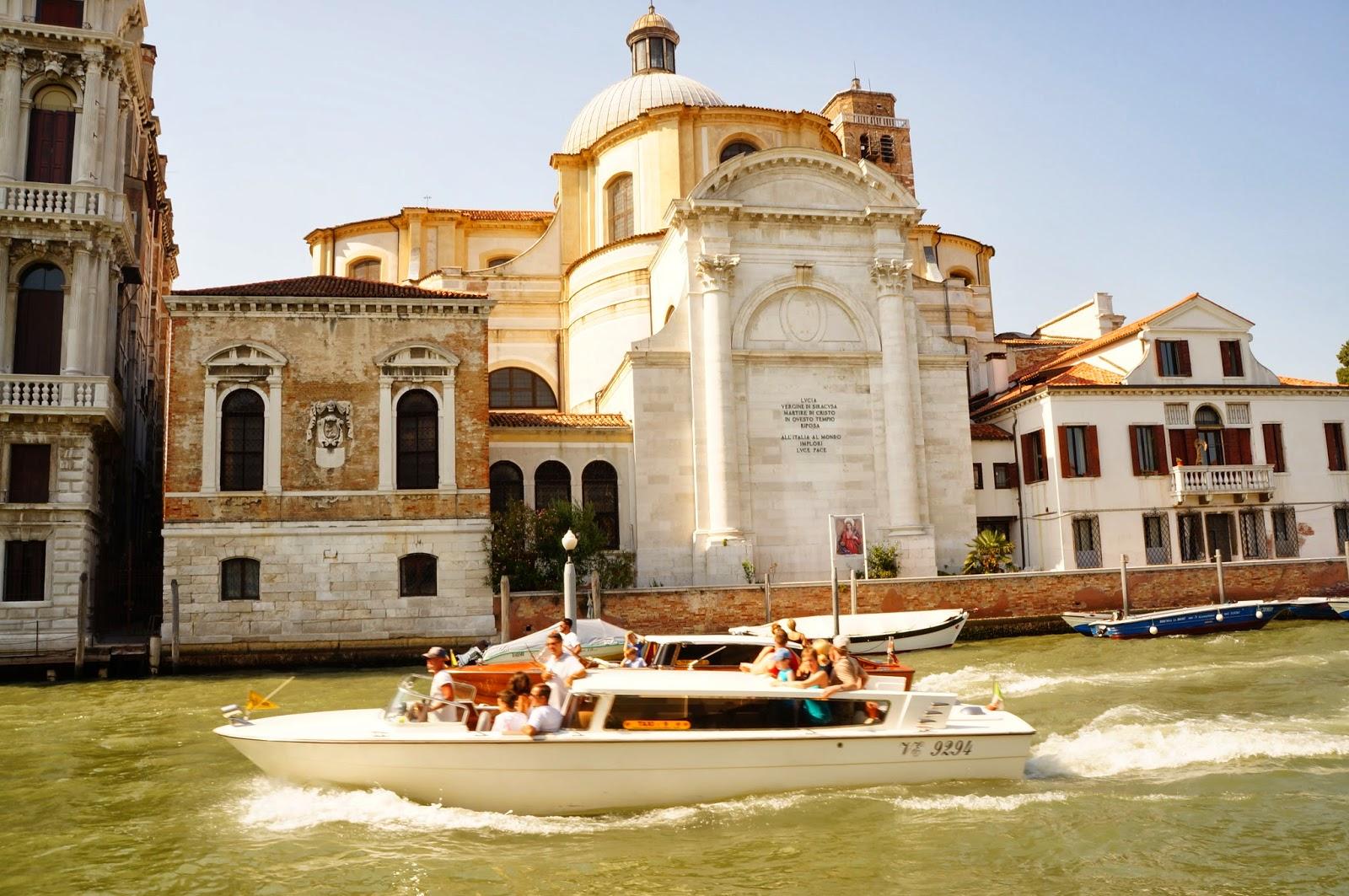 По воде в Венеции