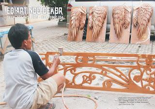 Pembuatan Sayap Angel