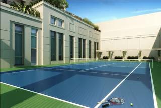 apartamento com quadra de tênis em são paulo