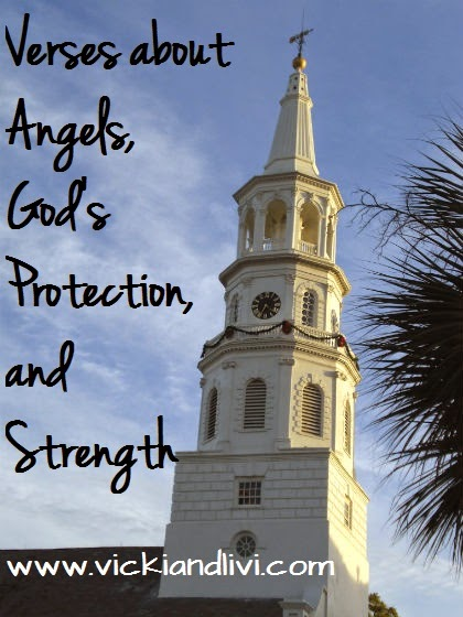 Vicki and Livi: Verses about Angels, God's Protection, and Strength