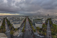 Avenues in Paris Photography