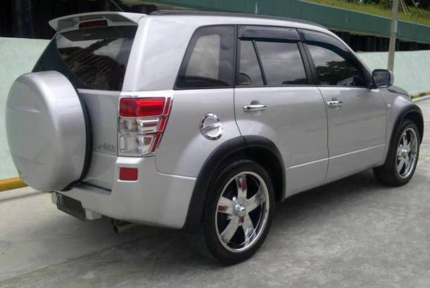Dijual Mobil Samarinda; Suzuki Grand Vitara JLX M/T (2008) Warna  title=
