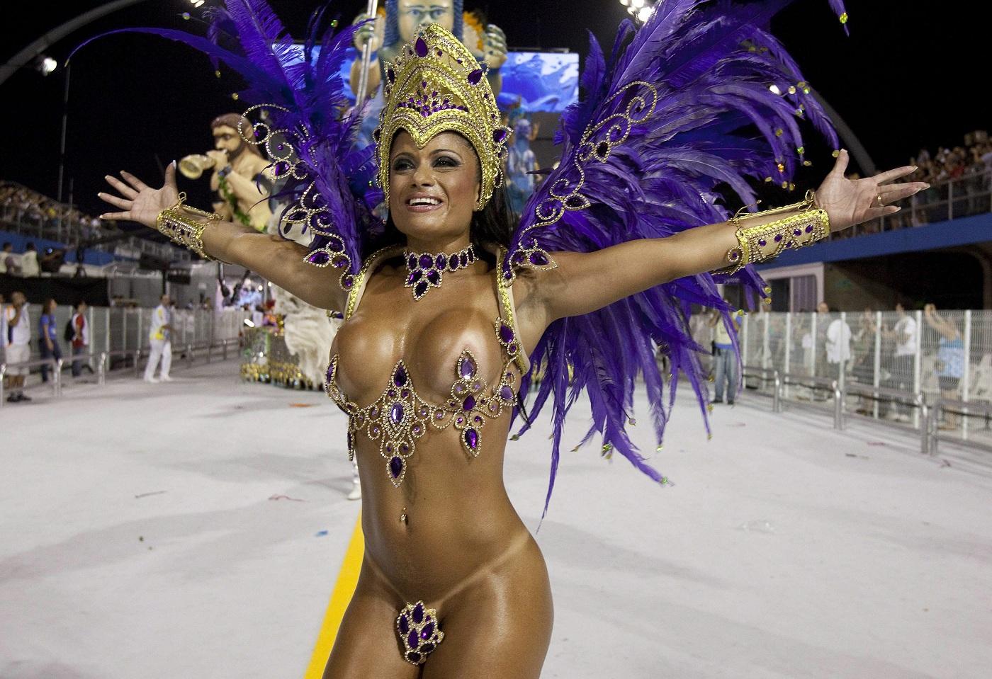 Бразильский карнавал голые девушек