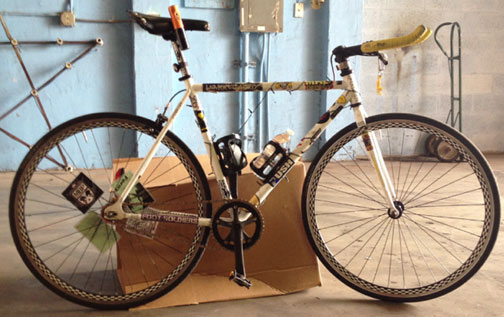 Stolen Bicycle Miami Beach