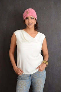 Actress Manchu Lakshmi Pictures in Jeans at Dongata Platinum Disc Function 12