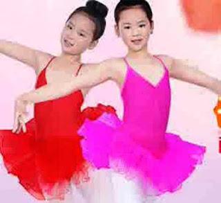 Desain Baju Balet Anak Cantik