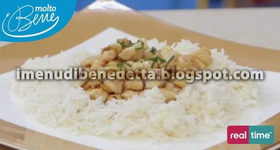 Pollo alla Mandorle di Benedetta Parodi