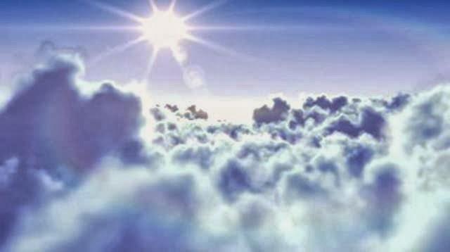 matahari dan awan