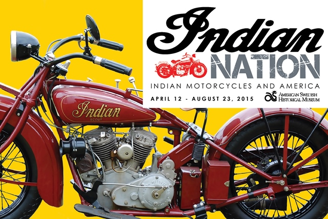 "Philadelphia; American Swedish Museum Presents: Indian Nation: Indian Motorcycles and America; Hi Philadelphia friends or folks in the area!  If you have not heard already, the American Swedish Museum has a special exhibition on Indian Motorcycles.  The American Swedish Museum is the oldest Swedish Museum in the United States and it is right here in South Philadelphia!  The exhibition, ""Indian Nation: Indian Motorcycles and America,"" features 12 rare Indian motorcycles, parts, and history about the Indian Motorcycle Company's roots and key innovations.  Carl Oscar Hedstrom, a Swedish immigrant, was the mastermind behind the first American motorcycle, the Indian, and founded the Indian Motocycle Manufacturing Company in 1901 with partner George Hendee.    If you are in the area I suggest you check out the exhibition.  It runs through the summer."